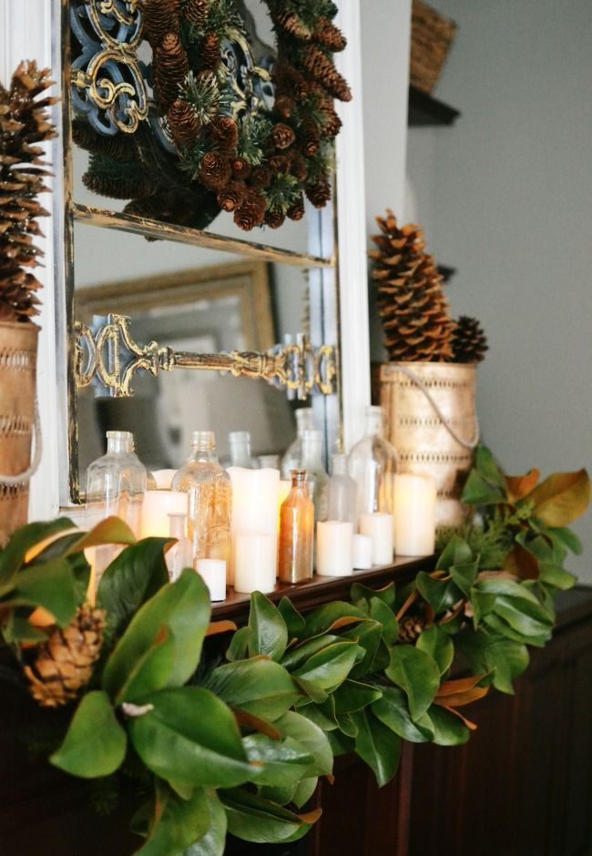 Natural Outdoor Christmas Decorating Ideas