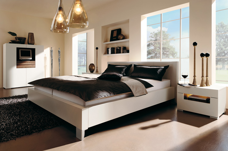 Decorating themes include island getaway, parisian, casual, and more. Warm Bedroom Decorating Ideas by Huelsta - DigsDigs