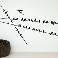 Funny Wall Stickers for Cat and Bird Lovers - DigsDigs