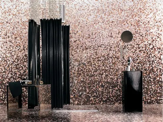 Decorating Rooms with Mosaic Glass Tiles from Bisazza