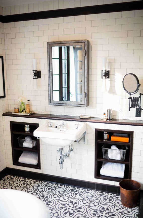 title | Vintage Black And White Bathroom Ideas