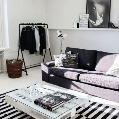 Living Room Decor Ideas With Grey Carpet Small Armchair 26 Ways To Use Ikea Stockholm Rug For Home - Digsdigs