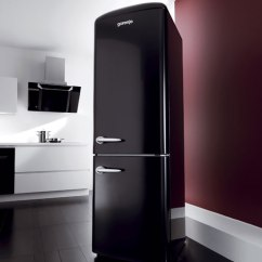 Modern Kitchen Appliances Small Portable Island New Contemporary Retro Refrigerator By Gorenje - Digsdigs