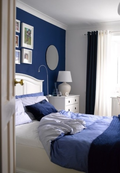 blue interior bedroom designs Blue And Turquoise Accents In Bedroom Designs – 39 Stylish Ideas - DigsDigs