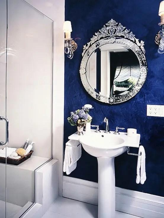 67 Cool Blue Bathroom Design Ideas  DigsDigs