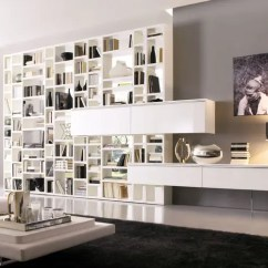 Living Room Wall Units With Storage Distressed Leather Furniture 20 Modern For Book From Misuraemme Digsdigs