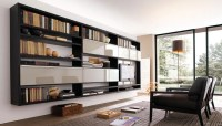 20 Modern Living Room Wall Units for Book Storage from ...