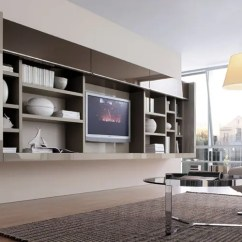 Storage Wall Units Living Room Ways To Decorate Your Apartment 20 Modern For Book From Misuraemme Digsdigs