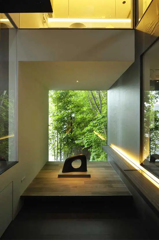 Contemporary Japanese House Design  Boukyo House  DigsDigs