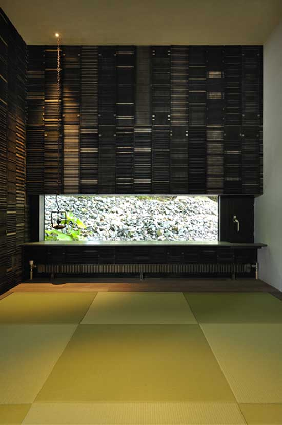 Contemporary Japanese House Design  Boukyo House  DigsDigs