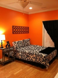 30 Inspiring Ripe Orange Room Designs - DigsDigs