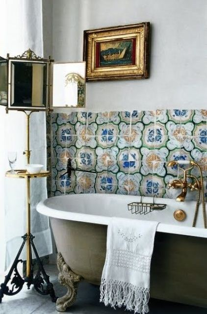 36 bright bohemian bathroom design ideas - digsdigs