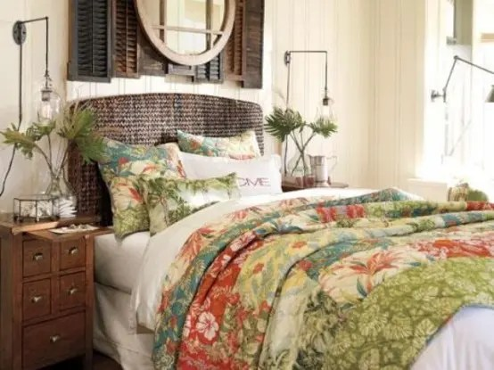 53 Bright Tropical Bedroom Designs Digsdigs