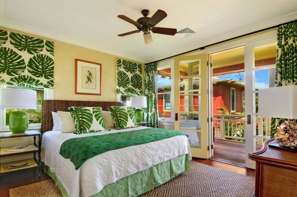 bright tropical bedroom designs 39 Bright Tropical Bedroom Designs | DigsDigs