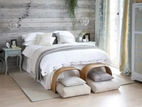 27 Calm And Relaxed Whitewashed Headboards DigsDigs