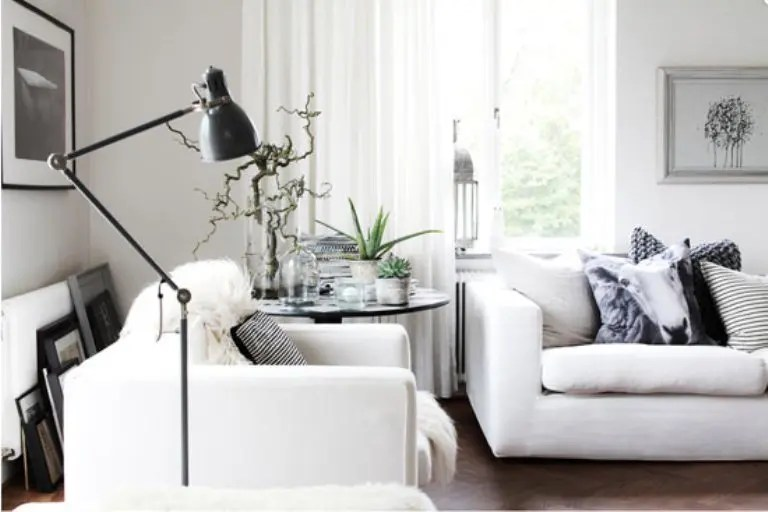 Casual Nordic Interior In Black White And Grey  DigsDigs