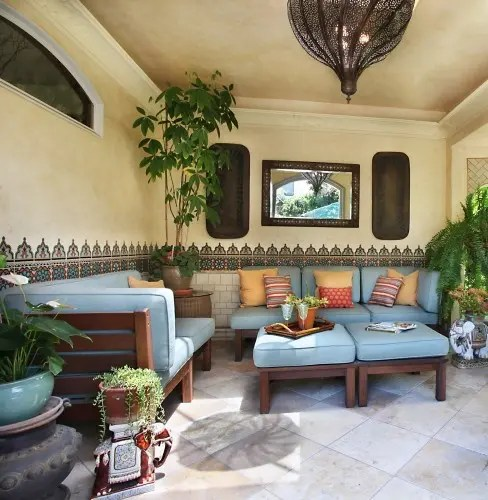 75 Charming MoroccoStyle Patio Designs  DigsDigs