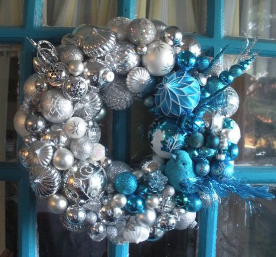 35 Silver And Blue Dcor Ideas For Christmas And New Year  DigsDigs