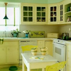 Colorful Kitchen Accessories Virtual Cheerful Summer Interiors: 50 Green And Yellow ...