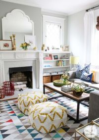 33 Cheerful Summer Living Room Dcor Ideas | DigsDigs