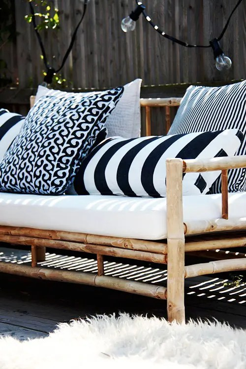 30 Chic Black And White Outdoor Spaces Digsdigs