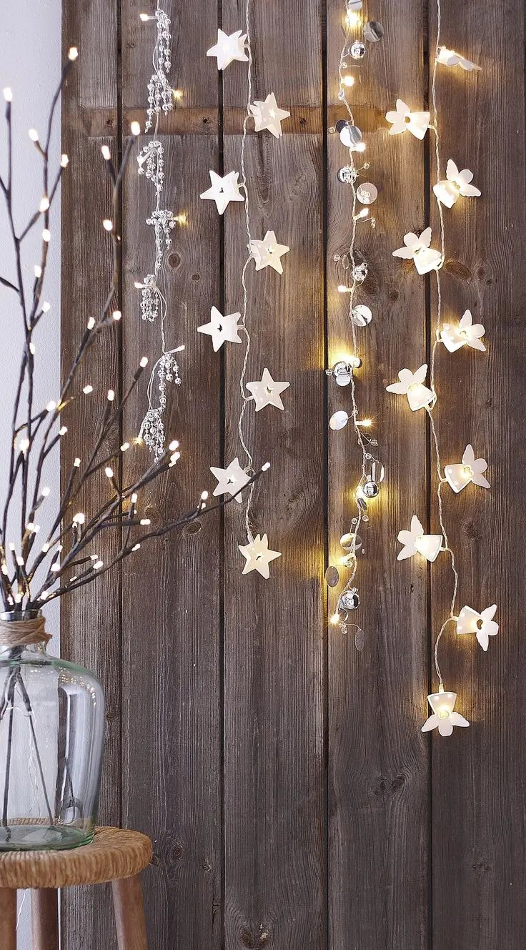 Lighted Window Ornaments