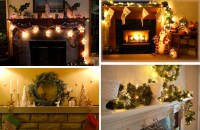 33 Mantel Christmas Decorations Ideas - DigsDigs