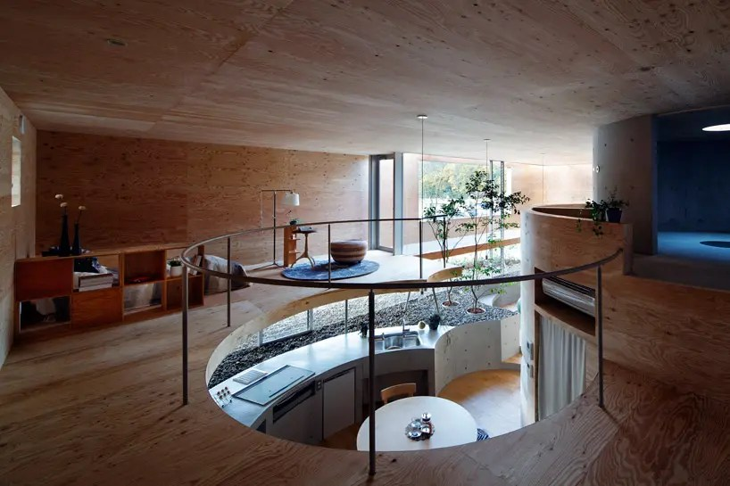 Circular Pit House With A Sunken Footprint DigsDigs