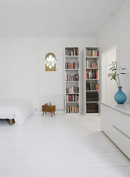 Clean White Small Apartment Interior Design with Minimalism in Mind  DigsDigs
