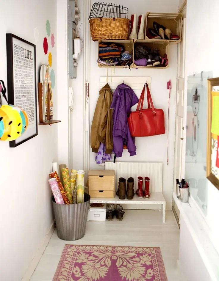 63 Clever Hallway Storage Ideas  DigsDigs