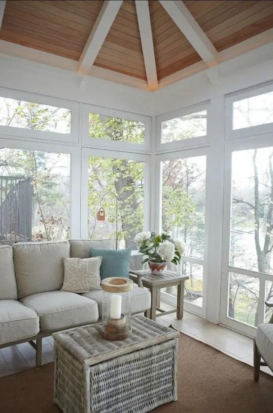 25 Coastal And Beach Inspired Sunroom Design Ideas Digsdigs