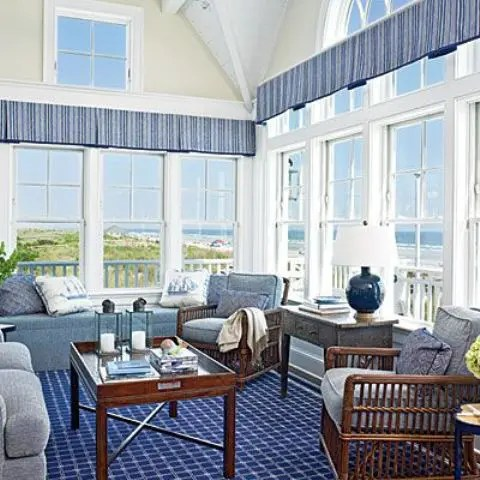 examples of living room decor good colors for rooms paint 25 coastal and beach-inspired sunroom design ideas - digsdigs