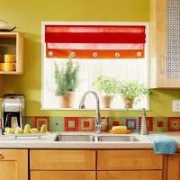 36 Colorful And Original Kitchen Backsplash Ideas   DigsDigs