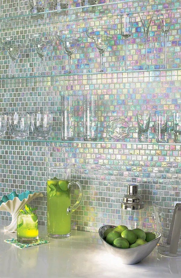 bling kitchen backsplash island with sink for sale 36 colorful and original ideas | digsdigs