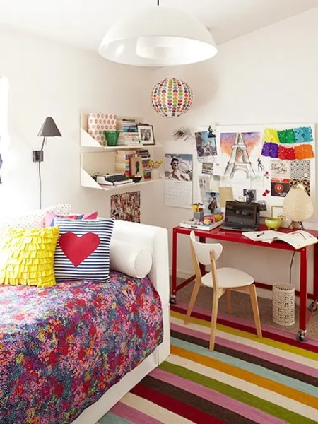 colorful bedroom designs Themes For Baby Room: Colorful Modern Bedroom Designs