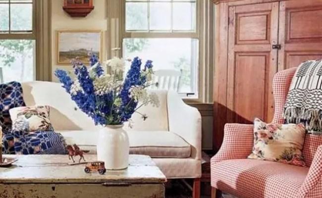 Farmhouse Living Room Zion Star