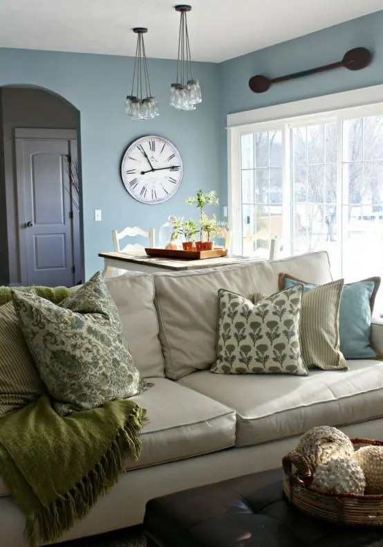 living room draperies design your virtual 45 comfy farmhouse designs to steal - digsdigs