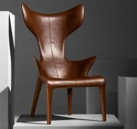 Comfy Leather Armchair For Readers | DigsDigs