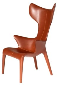 Comfy Leather Armchair For Readers - DigsDigs