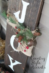 40 Comfy Rustic Outdoor Christmas Dcor Ideas