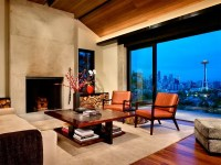 Concrete and Steel Modern Interior Design | DigsDigs