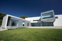 Contemporary Style Concrete House - Santander house by A ...