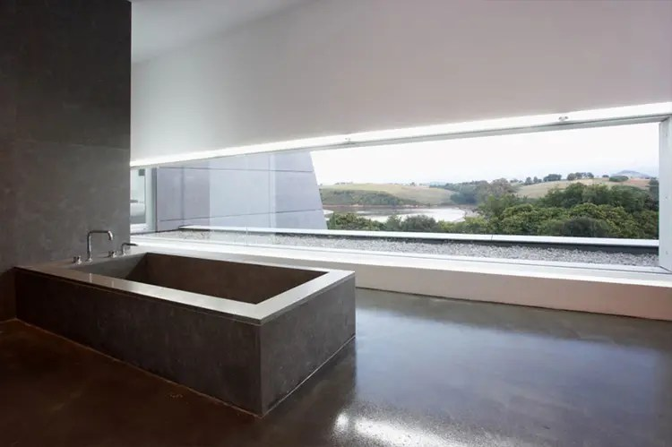 Contemporary Style Concrete House Santander House By A Cero DigsDigs
