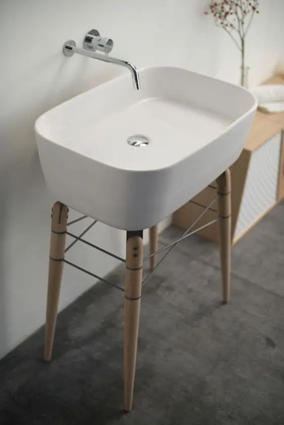 25 Cool And Creative Sink Stands For Any Bathroom  DigsDigs