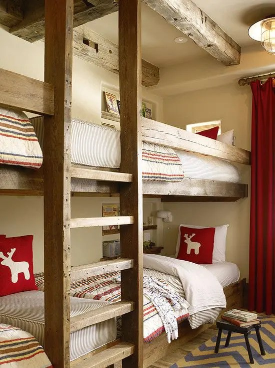 If you are looking for inexpensive bedroom decorating ideas, check out these great pieces for under $100. 26 Cool And Functional Built-In Bunk Beds For Kids - DigsDigs