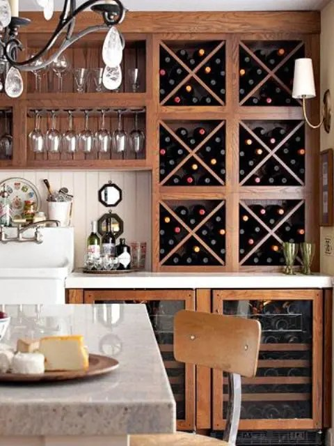 28 Cool And Practical Home Wine Storage Ideas Digsdigs
