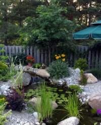 67 Cool Backyard Pond Design Ideas - DigsDigs
