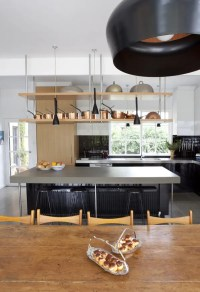 Cool Big Kitchen In Minimalist And Rustic Styles | DigsDigs