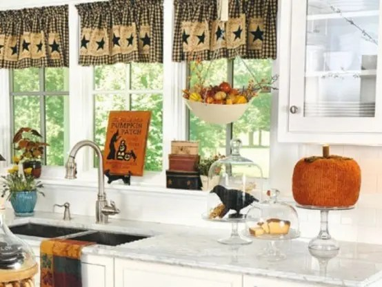 fall kitchen decor vintage posters for 37 cool ideas digsdigs