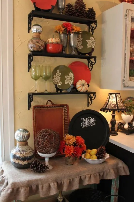 fall kitchen decor corner sinks for sale 37 cool décor ideas - digsdigs